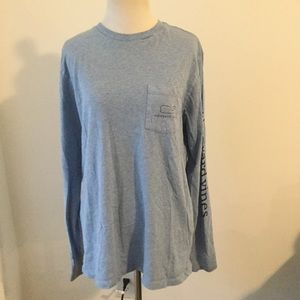 Vineyard Vines long sleeved t shirt whale small
